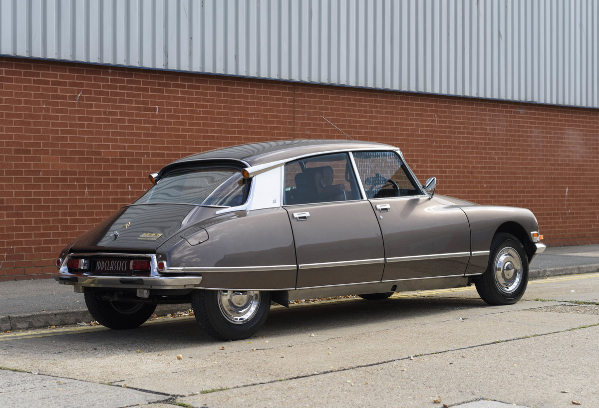 1972 Citroën DS21 EFI Pallas Automatique (RHD) For Sale (picture 6 of 24)