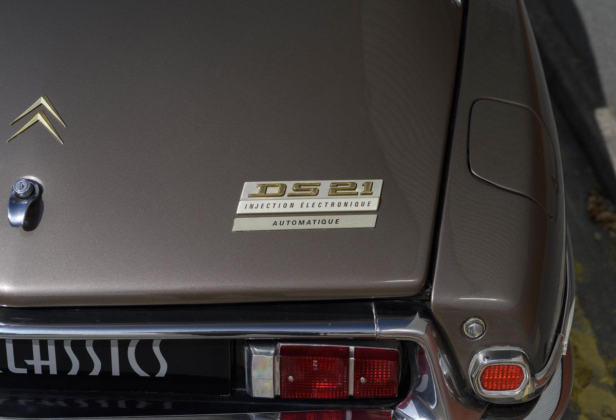 1972 Citroën DS21 EFI Pallas Automatique (RHD) For Sale (picture 15 of 24)