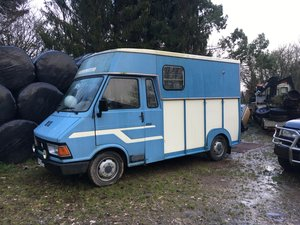 Extremely Rare Citroen C35 Horsebox