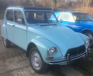 Picture of 1969 Rare four light part restored Citroen Dyane 6 For Sale
