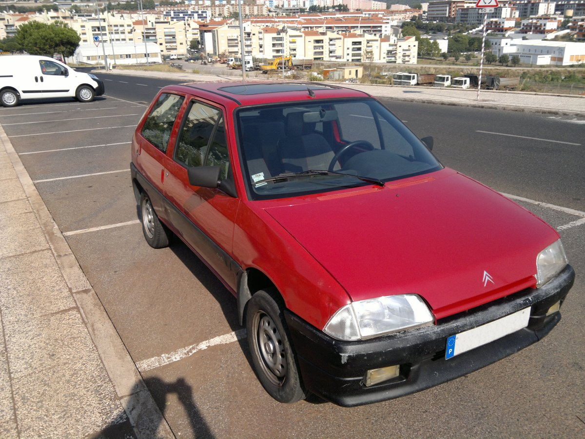 1992 Citroen AX 4x4 Piste Rouge GPL For Sale (picture 1 of 6)
