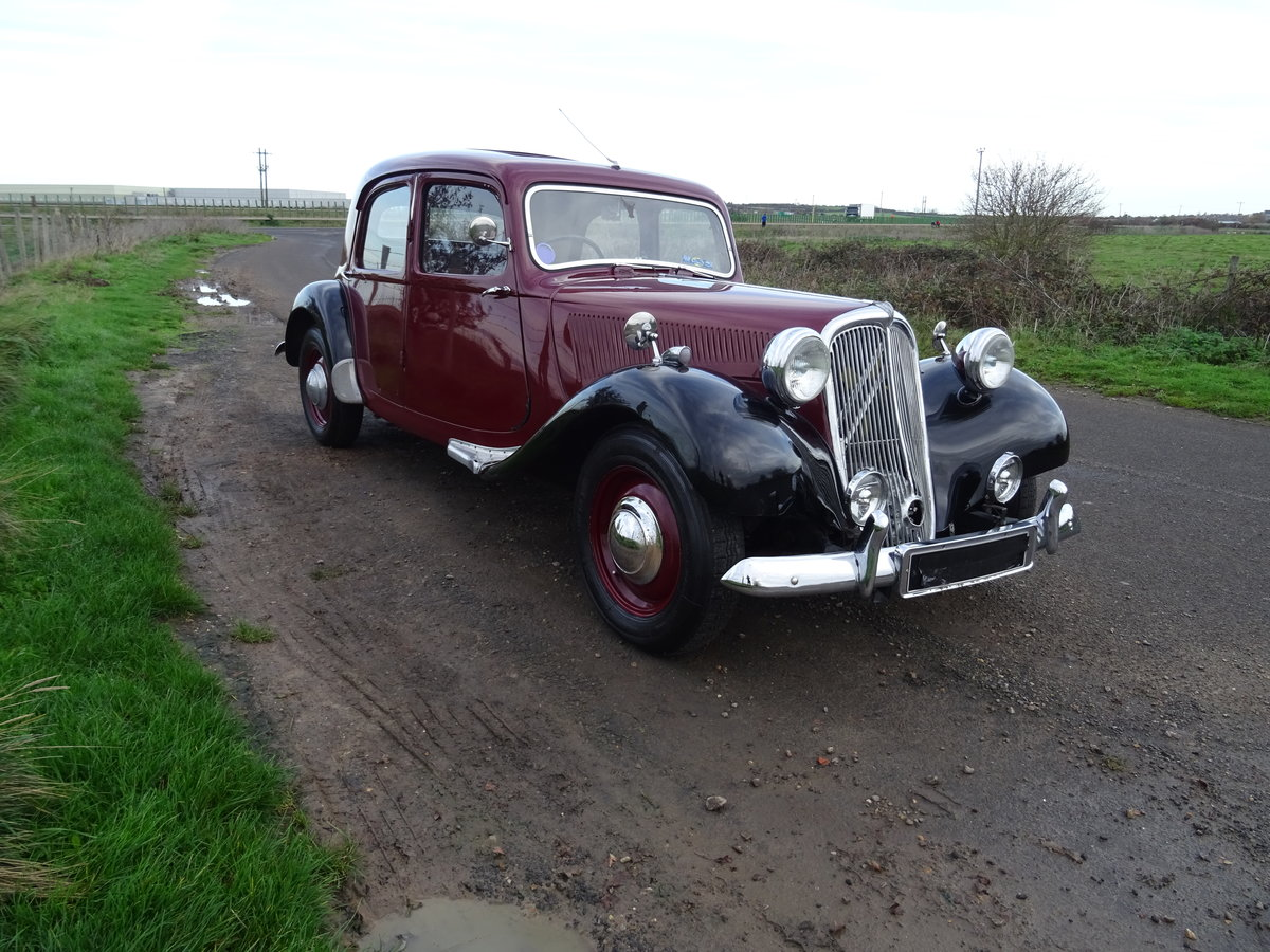 Picture of 1955 Traction avant light 15 rare slough built rhd For Sale
