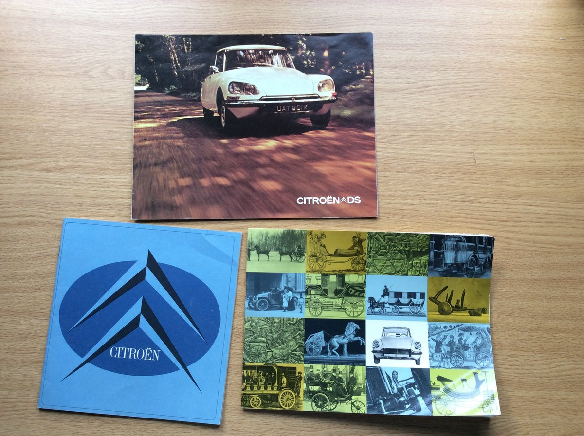 1964 Excellent brochures/booklets For Sale (picture 1 of 7)