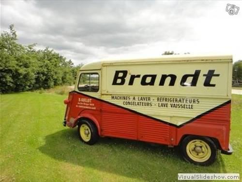1976 Original Brandt Citroen Hy van For Sale (picture 1 of 6)