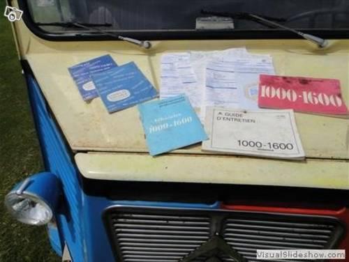 1976 Original Brandt Citroen Hy van For Sale (picture 3 of 6)