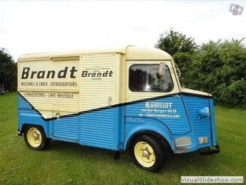 1976 Original Brandt Citroen Hy van For Sale (picture 4 of 6)