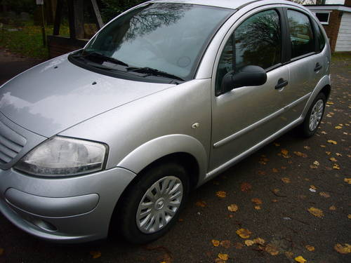 2006 CITROEN C3 1.4 DIESEL HDI DESIRE, 79000 MILES For Sale (picture 2 of 6)