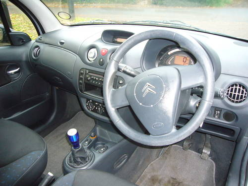 2006 CITROEN C3 1.4 DIESEL HDI DESIRE, 79000 MILES For Sale (picture 5 of 6)