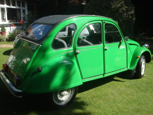 1987 2CV Special Edition For Sale (picture 2 of 6)