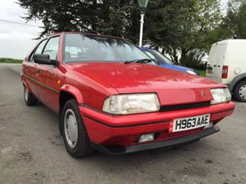 Citroen BX GTi 8V 1990 H plate SOLD (picture 2 of 6)