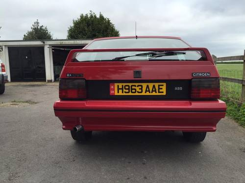 Citroen BX GTi 8V 1990 H plate SOLD (picture 4 of 6)