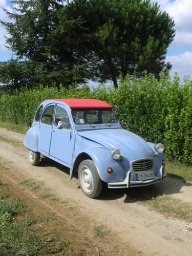 1986 CITROEN 2 CV 6 SPECIAL 602cc LHD For Sale (picture 1 of 6)