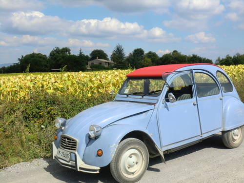 1986 CITROEN 2 CV 6 SPECIAL 602cc LHD For Sale (picture 2 of 6)