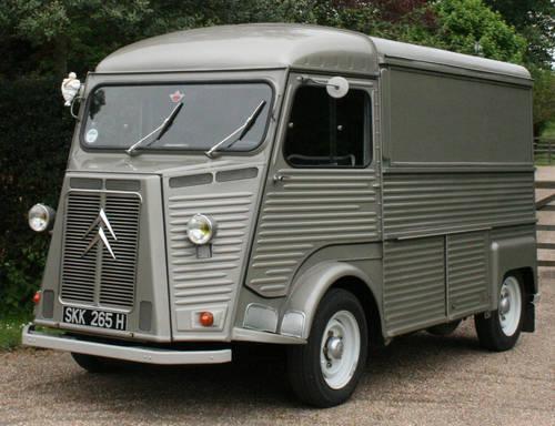 1970 citro n h van for hire promos film food for. Black Bedroom Furniture Sets. Home Design Ideas