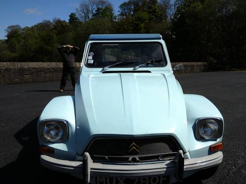 1967 Citroën Dyane 4 FOR SALE For Sale (picture 5 of 6)