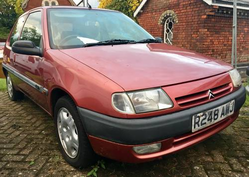 1998 Citroen 1.4 VSX  FSH becoming very rare now For Sale (picture 1 of 6)