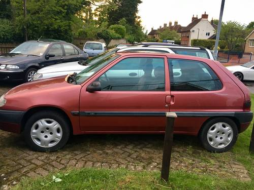 1998 Citroen 1.4 VSX  FSH becoming very rare now For Sale (picture 6 of 6)