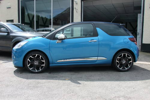 2013 CITROEN DS3 1.6 E-HDI AIRDREAM DSPORT PLUS 3DR Manual SOLD (picture 2 of 6)