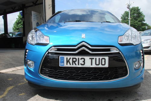 2013 CITROEN DS3 1.6 E-HDI AIRDREAM DSPORT PLUS 3DR Manual SOLD (picture 4 of 6)