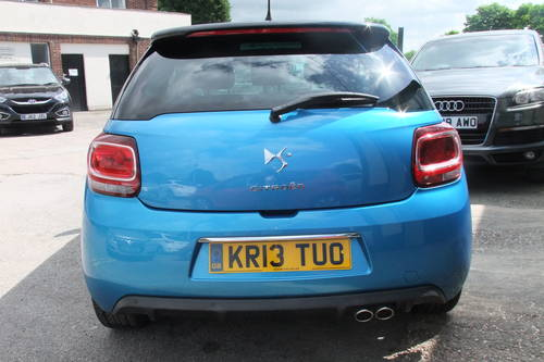 2013 CITROEN DS3 1.6 E-HDI AIRDREAM DSPORT PLUS 3DR Manual SOLD (picture 5 of 6)