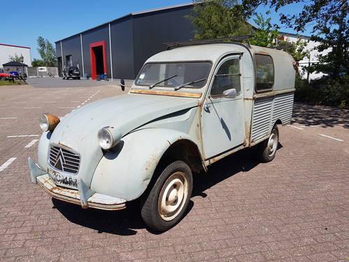 1964 citroen 2cv Camionnette For Sale (picture 1 of 6)