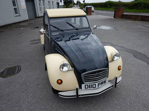 1986 CITROEN 2CV Dolly ~ Genuine 66589 Miles ~  SOLD (picture 2 of 6)