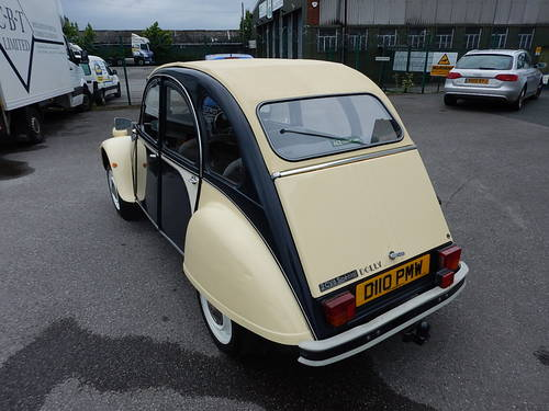 1986 CITROEN 2CV Dolly ~ Genuine 66589 Miles ~  SOLD (picture 4 of 6)