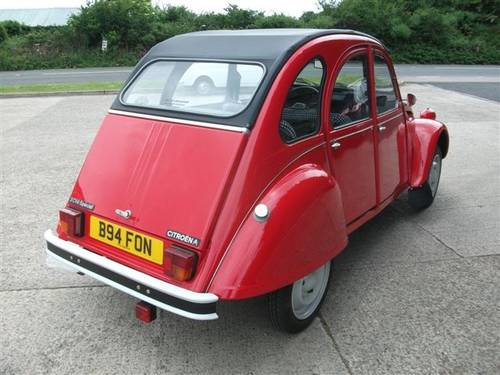 1985 Citroen 2CV6 Special SOLD (picture 2 of 6)