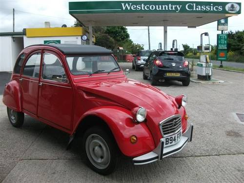 1985 Citroen 2CV6 Special SOLD (picture 3 of 6)