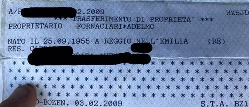 Citroen 2 cv charleston ex zucchero fornaciari For Sale (picture 3 of 4)
