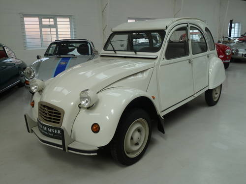 1989 Citroen  2 CV - Ultra Low Mileage and Perfectly Original SOLD (picture 1 of 6)