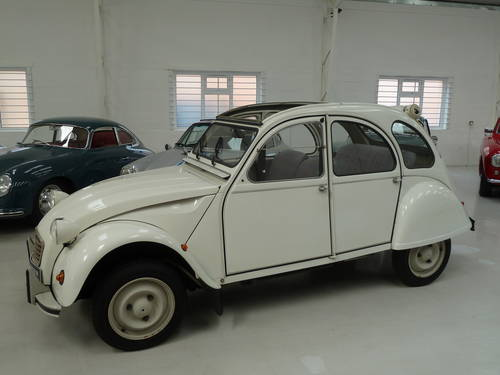 1989 Citroen  2 CV - Ultra Low Mileage and Perfectly Original SOLD (picture 2 of 6)