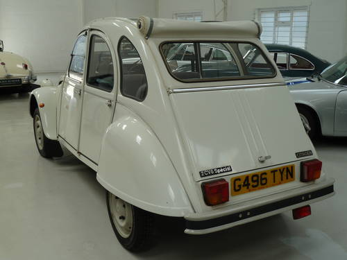 1989 Citroen  2 CV - Ultra Low Mileage and Perfectly Original SOLD (picture 3 of 6)