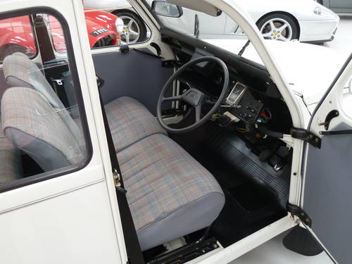1989 Citroen  2 CV - Ultra Low Mileage and Perfectly Original SOLD (picture 4 of 6)