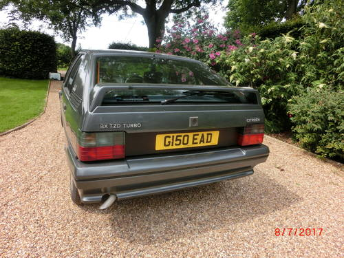 Citroen BX TZD Turbo (1990) SOLD (picture 2 of 6)
