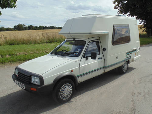 1992 Citroen C15D Romahome SOLD (picture 1 of 6)