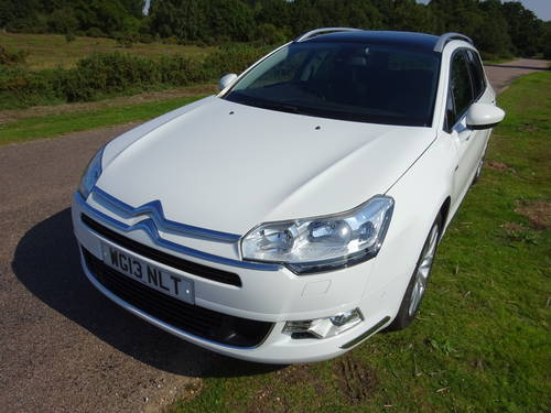 2013(13) CITROEN C5 2.2HDi(200)TOURER,AUTO,EXCLUSIVE,ESTATE, SOLD (picture 1 of 6)