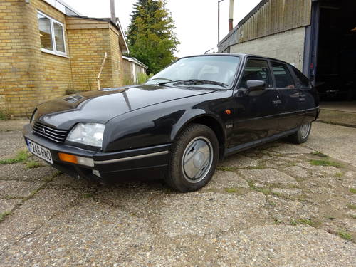 1989 (F) Citroen CX 2.5 GTi Turbo 2, Black with Black Leathe SOLD (picture 1 of 6)