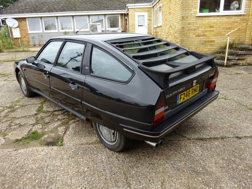 1989 (F) Citroen CX 2.5 GTi Turbo 2, Black with Black Leathe SOLD (picture 2 of 6)