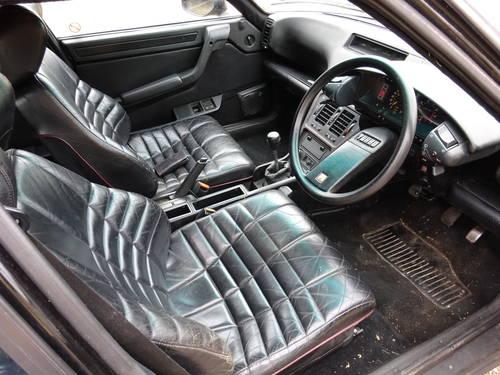 1989 (F) Citroen CX 2.5 GTi Turbo 2, Black with Black Leathe SOLD (picture 3 of 6)