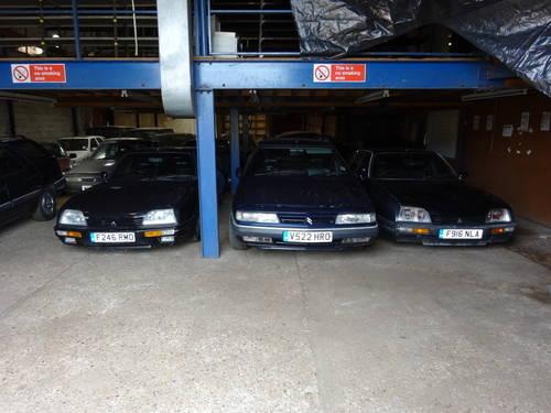 1989 (F) Citroen CX 2.5 GTi Turbo 2, Black with Black Leathe SOLD (picture 4 of 6)