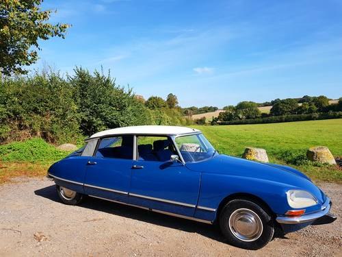 CITROEN DS 20 CONFORT 1969 - Excellent condition SOLD (picture 1 of 6)