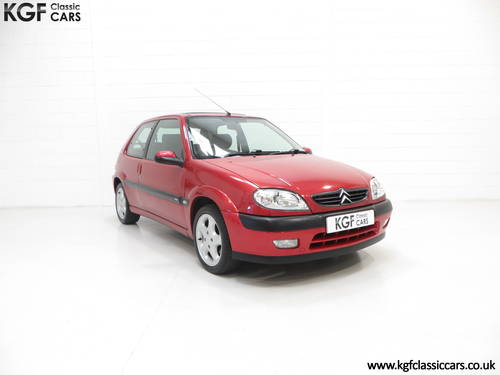 2300 Citroen Saxo VTS with 52,971 Miles and Full Citroen History SOLD (picture 1 of 6)