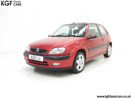 2300 Citroen Saxo VTS with 52,971 Miles and Full Citroen History SOLD (picture 2 of 6)