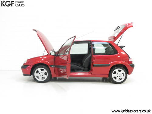 2300 Citroen Saxo VTS with 52,971 Miles and Full Citroen History SOLD (picture 3 of 6)