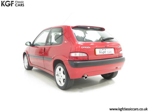 2300 Citroen Saxo VTS with 52,971 Miles and Full Citroen History SOLD (picture 4 of 6)