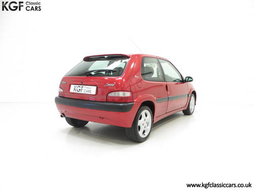2300 Citroen Saxo VTS with 52,971 Miles and Full Citroen History SOLD (picture 5 of 6)