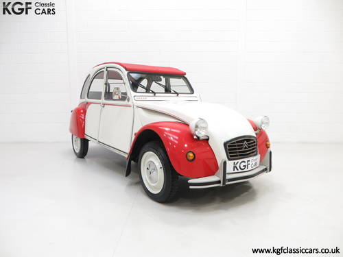 1988 A Charming Citroen 2CV6 Special Dolly with One Former Keeper SOLD (picture 1 of 6)