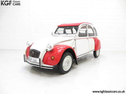 1988 A Charming Citroen 2CV6 Special Dolly with One Former Keeper SOLD (picture 2 of 6)