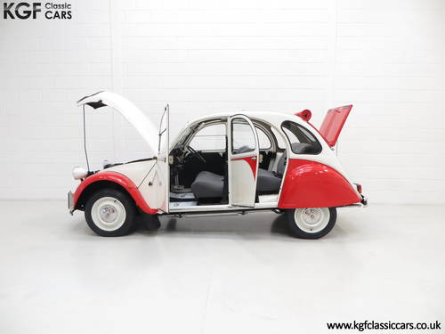 1988 A Charming Citroen 2CV6 Special Dolly with One Former Keeper SOLD (picture 3 of 6)